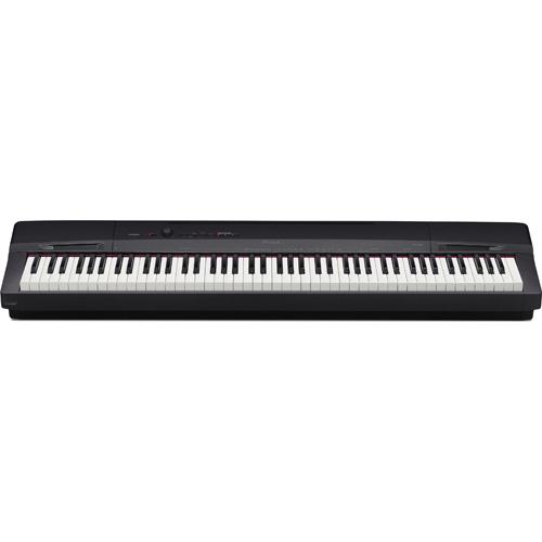 【長期保証付】カシオ(CASIO) 電子ピアノ(ソリッドブラック調) Privia(プリヴィア) 88鍵盤 PX-160-BK