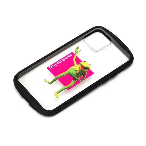PGA PG-DGT20F06KER 誕生日プレゼント カーミット ガラスタフケース iPhone12mini用 Disney 新生活