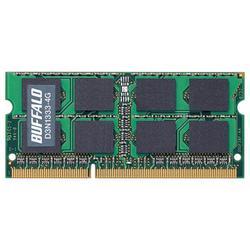 バッファロー D3N1333-4G PC3-10600 204Pin DDR3 SDRAM S.O.DIMM 4GB