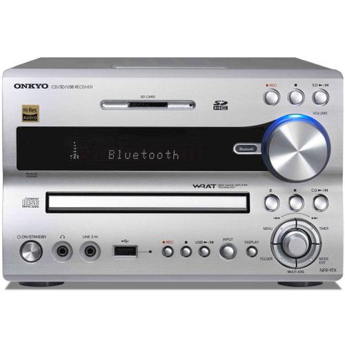 【長期保証付】ONKYO NFR-9TX-S(シルバー) CD/SD/USBレシーバー FRシリーズ ハイレゾ対応