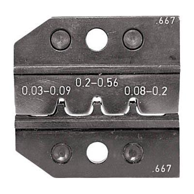 RENNSTEIG 624-667-3-0 圧着ダイス 624-667 ピンコンタクト 0.03-0.2