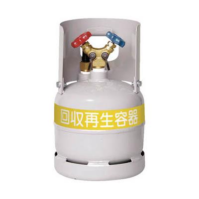 アサダ TF090 フロン回収ボンベ フロートセンサー付 6L 無記名