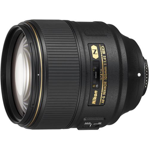 【長期保証付】ニコン AF-S NIKKOR 105mm f/1.4E ED
