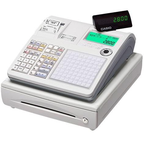 CASIO 「軽減税率対策補助金」対象 TK-2800-4S(ホワイト) ネットレジ 4部門