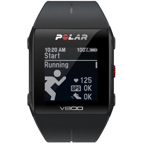 【長期保証付】Polar 90060769(ブラック) V800 2 HR GPSマルチスポーツウォッチ 腕時計タイプ