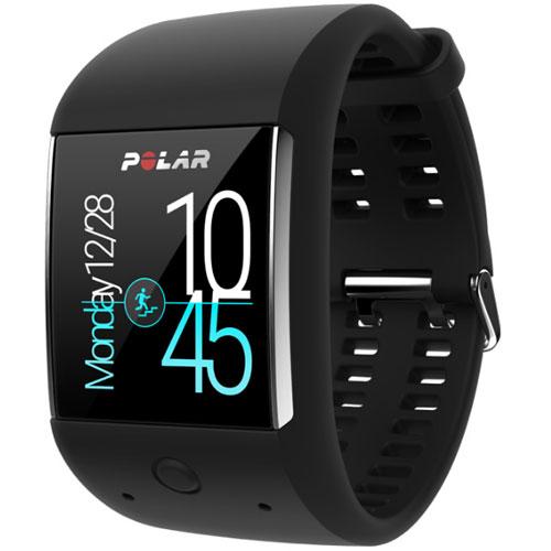 【長期保証付】Polar 90063088(ブラック) M600 GPS内蔵スポーツウォッチ 腕時計タイプ