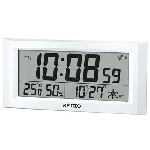 セイコー GP502W(白パール) 電波掛け置兼用時計
