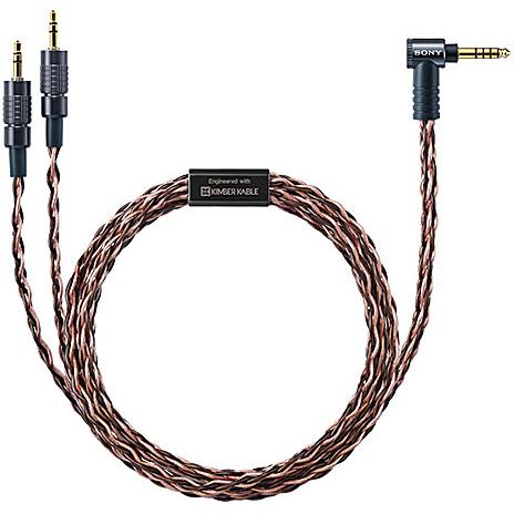 ソニー MUC-B20SB1 ヘッドホンケーブル 5極4.4mmバランス⇔3極ミニプラグ×2 2m