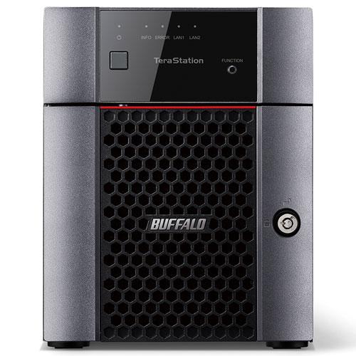 バッファロー TS3410DN0804 テラステーション 4ドライブNAS 8TB 4ベイ