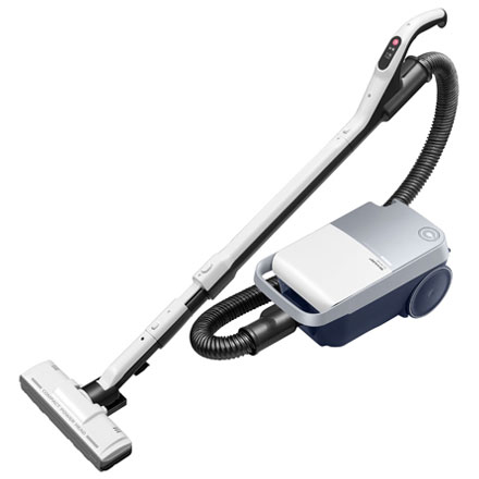 【長期保証付】シャープ EC-KP15P-W(ホワイト) 紙パック式掃除機