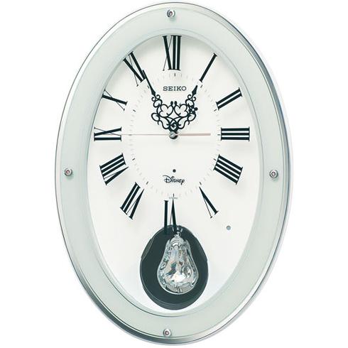 セイコー FS508W 大人ディズニー 電波掛け時計