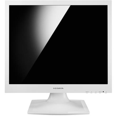 IODATA LCD-AD173SESW-P(ホワイト) 17型スクエア 液晶ディスプレイ 保護ガラスフィルター搭載