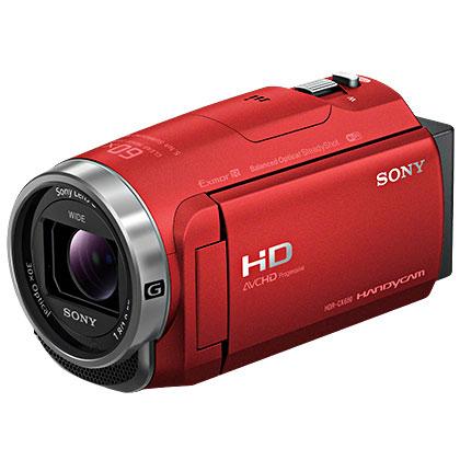 【在庫あり】14時までの注文で当日出荷可能! ソニー HDR-CX680-R(レッド) デジタルHDビデオカメラレコーダー 64GB