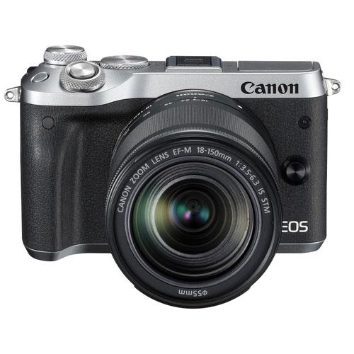 【長期保証付】CANON EOS M6 EF-M18-150 IS STM レンズキット(シルバー)