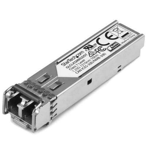 StarTech GLCLXSMRGDST SFPモジュール Cisco製GLC-LX-SM-RGD互換