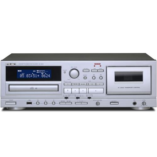 【長期保証付】TEAC AD-850 カセットデッキ/CDプレーヤー