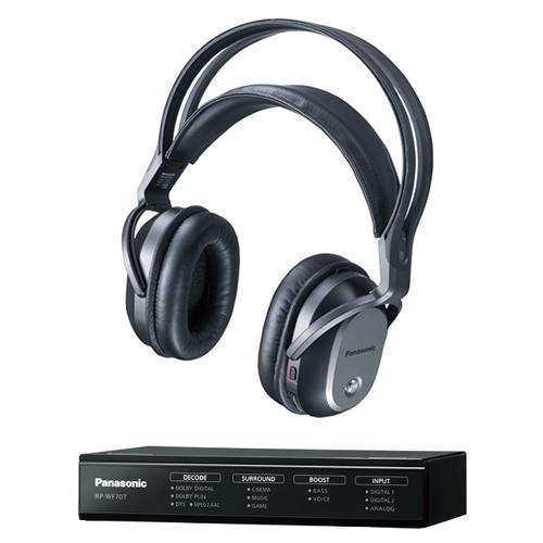 パナソニック RP-WF70-K(ブラック) デジタルワイヤレスサラウンドヘッドホン