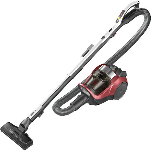 【長期保証付】三菱 TC-EXG8P-R(ワインレッド) Be-k(ビケイ) サイクロン掃除機