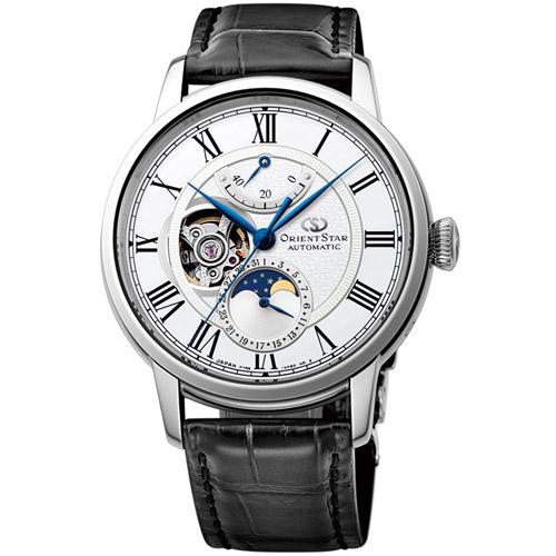オリエント RK-AM0001S Orient Star メカニカルムーンフェイズ 機械式時計 (メンズ)