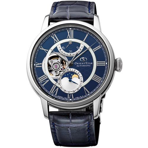 【長期保証付】オリエント RK-AM0002L Orient Star メカニカルムーンフェイズ 機械式時計 (メンズ)