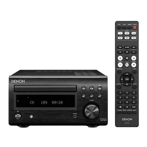 【長期保証付】DENON RCD-M41-K(ブラック) CDレシーバーシステム Mシリーズ