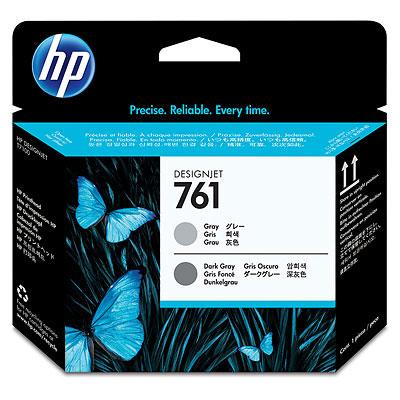 HP CH647A 純正 HP761 プリントヘッド グレー/ダークグレー 2色パック