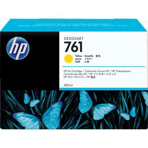 HP CM992A 純正 HP761 インクカートリッジ イエロー 400ml
