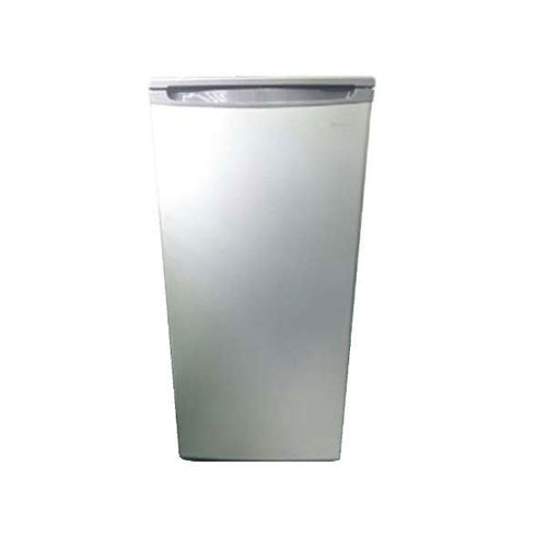 【設置】三ツ星貿易 SKM85(シルバー) 1ドア冷凍庫 右開き 87L
