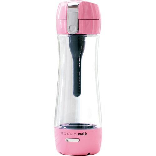 ガウラ GR-JPK(ピンク) ポータブル水素水ボトル GAURAwalk(ガウラウォーク) 300ml GAURAWALKGRJPKひんやり 熱対策 アイス 冷感 保冷 冷却 熱中症 涼しい クール 冷たい