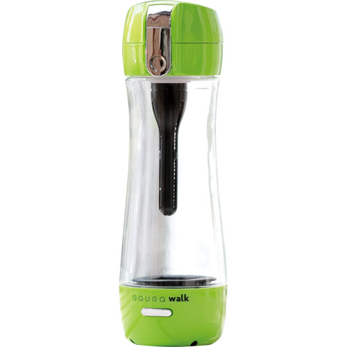 【長期保証付】ガウラ GR-JGN(グリーン) ポータブル水素水ボトル GAURAwalk(ガウラウォーク) 300ml GAURAWALKGRJGNひんやり 熱対策 アイス 冷感 保冷 冷却 熱中症 涼しい クール 冷たい