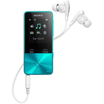 ソニー NW-S315-L(ブルー) ウォークマン Sシリーズ 16GB