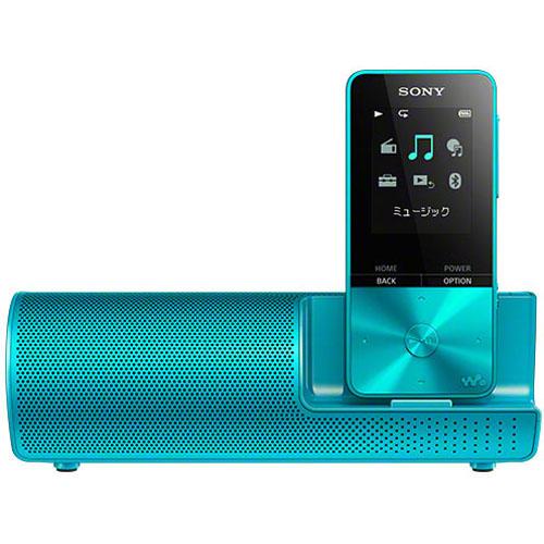 【長期保証付】ソニー NW-S315K-L(ブルー) ウォークマン Sシリーズ スピーカー付 16GB