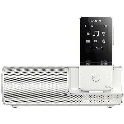 【長期保証付】ソニー NW-S315K-W(ホワイト) ウォークマン Sシリーズ スピーカー付 16GB
