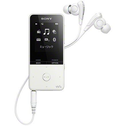 【長期保証付】ソニー NW-S315-W(ホワイト) ウォークマン Sシリーズ 16GB