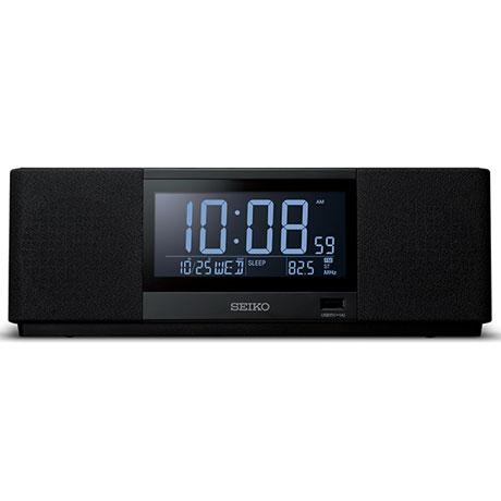 セイコー SS501K(黒) 目覚まし時計