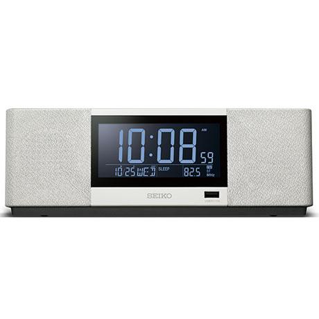 セイコー SS501A(白) 目覚まし時計