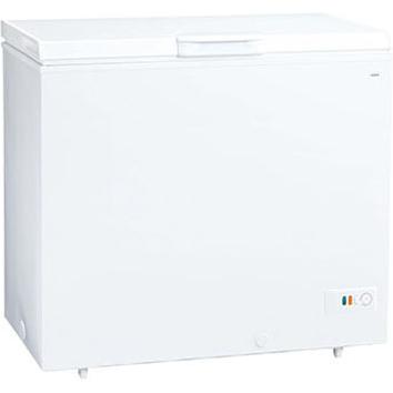 【設置+リサイクル+長期保証】アクア AQF-21CE-W(スノーホワイト) 冷凍庫 205L