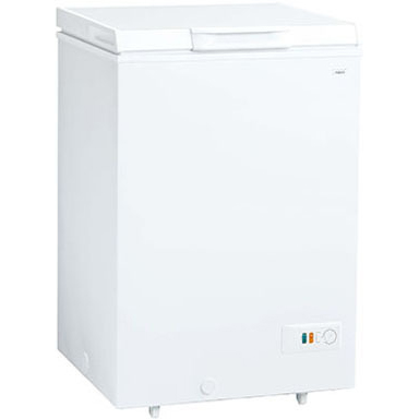 【設置+リサイクル】アクア AQF-10CE-W(スノーホワイト) 冷凍庫 103L