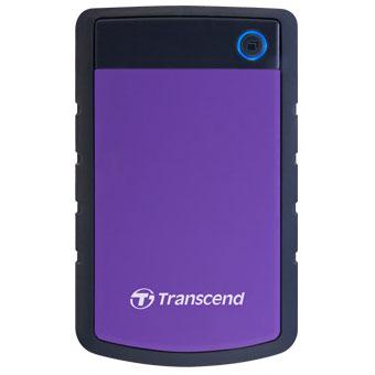 トランセンド TS4TSJ25H3P(Purple) StoreJet 25H3 外付けHDD 4TB USB2.0/3.0接続 耐衝撃