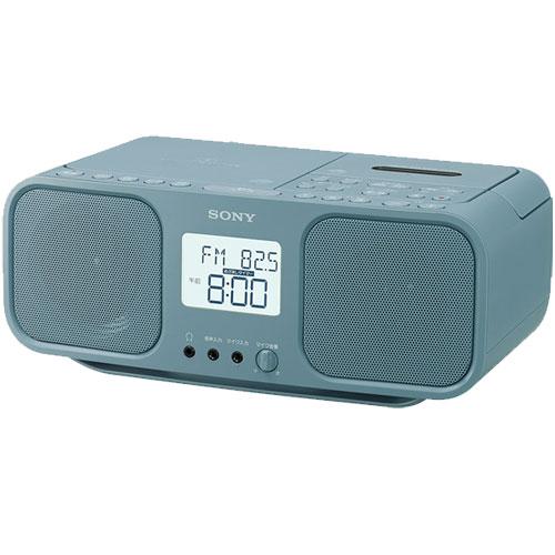 在庫�り 14時���注文�当日出��能 長期�証付 輸入 ソニー 売店 CDラジオカセットレコーダー ブルーグレー CFD-S401 LI