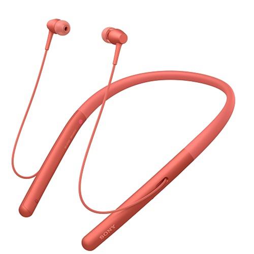 【長期保証付】ソニー WI-H700-R(トワイライトレッド) ワイヤレスステレオヘッドセット ハイレゾ対応