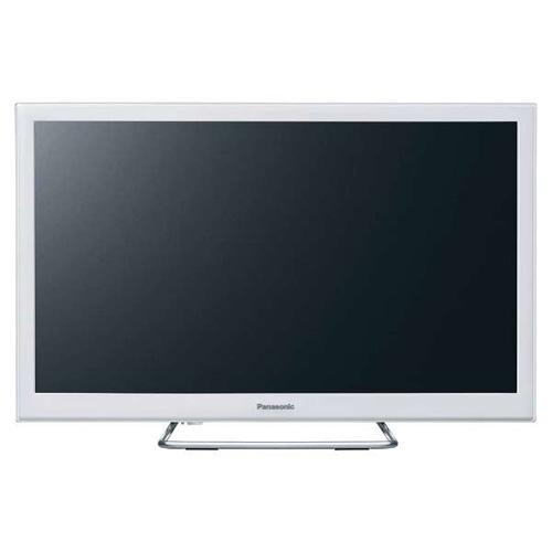 【長期保証付】パナソニック TH-24ES500-W(ホワイト) 地上・BS・110度CSデジタルハイビジョン液晶テレビ 24V型