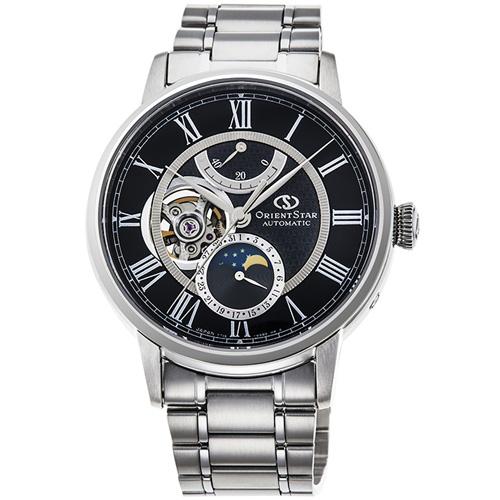 オリエント RK-AM0004B Orient Star メカニカルムーンフェイズ 機械式時計 (メンズ)