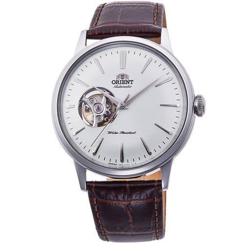 【長期保証付】オリエント RN-AG0005S クラシック セミスケルトン 機械式時計 (メンズ)