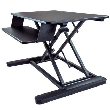 働き方改革 ARMSTSL 昇降デスク 24インチモニタ2台に対応 昇降式テーブル