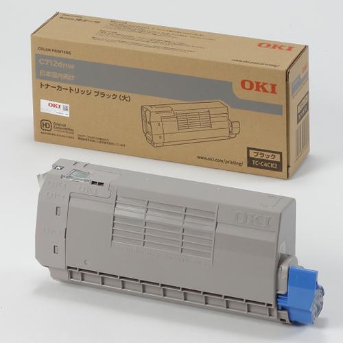 OKI TC-C4CK2 純正 トナーカートリッジ ブラック (大)