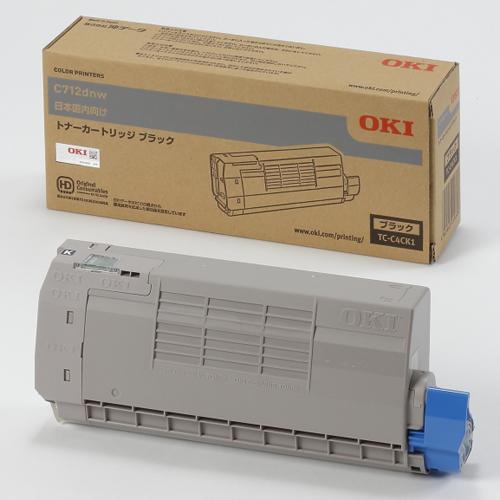 OKI TC-C4CK1 純正 トナーカートリッジ ブラック