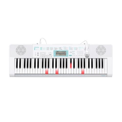 【長期保証付】CASIO カシオ 電子キーボード 61鍵盤 光ナビゲーションキーボード LK-128 らくらくモード/SDメモリーカードスロット付/ステップアップレッスン/ダンスミュージックモード/バーチャルホール機能