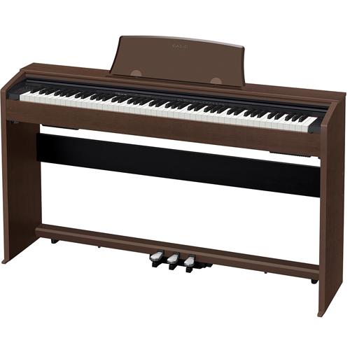 【長期保証付】CASIO カシオ 電子ピアノ プリヴィア 88鍵盤 PX-770BN オークウッド調 Privia デジタルピアノ 打鍵の強弱シミュレート機能