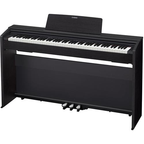 【長期保証付】CASIO PX-870-BK(ブラックウッド調) Privia(プリヴィア) 電子ピアノ 88鍵盤